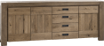 sideboard 230 cm - 3-tueren + 3-laden