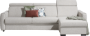 canape lit 3-places + meridienne droite + box (lit 160 x 190 cm)