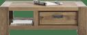salontafel 120 x 60 cm + 1-lade t&t + 1-niche