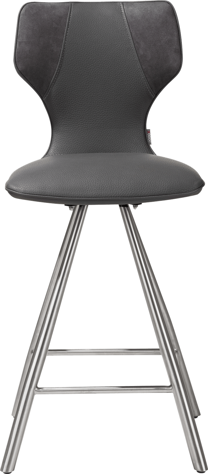 Scout chaise de bar inox combinaison calabria & tatra