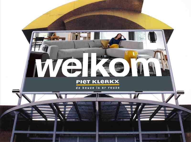 Piet Klerkx Vestigingen : Woonwinkel piet klerkx in waalwijk xooon
