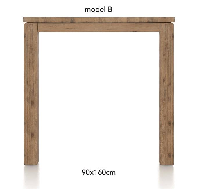A La Carte - bartafel 160 x 90 cm - ben