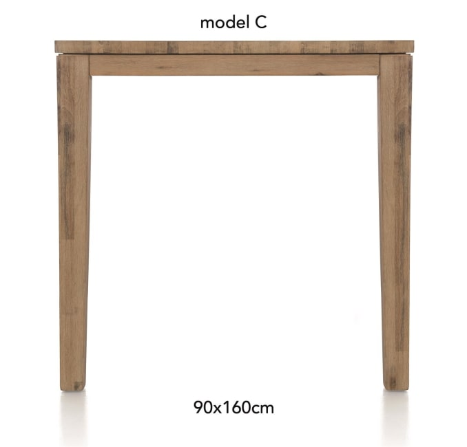 A La Carte - table de bar 160 x 90 cm - cor