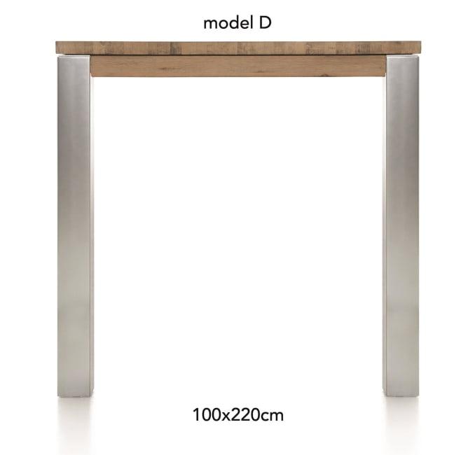 A La Carte - table de bar 220 x 100 cm - dirk
