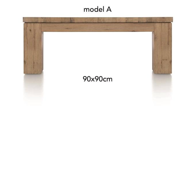 A La Carte - table basse 90 x 90 cm - aad