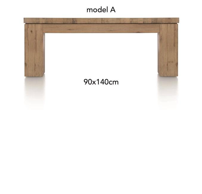 A La Carte - salontafel 140 x 90 cm - aad