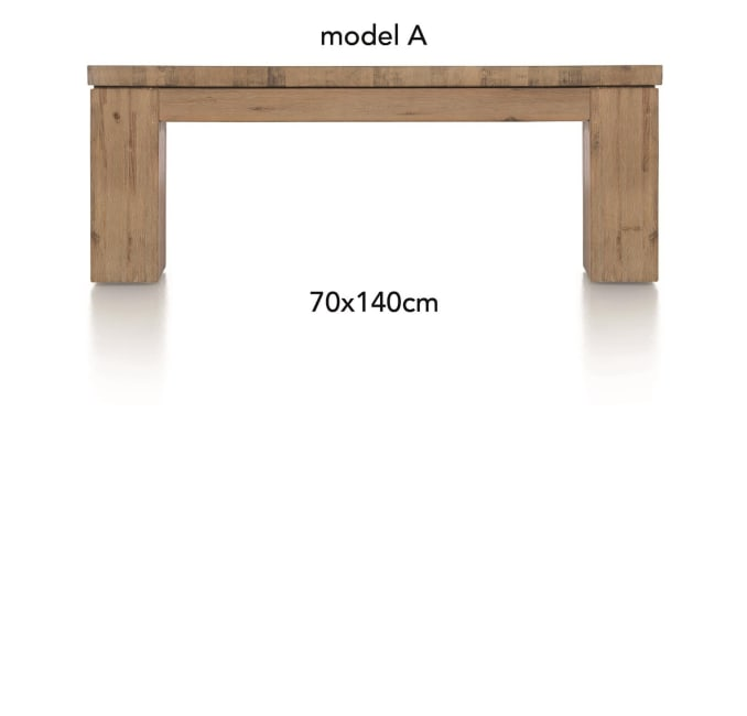 A La Carte - table basse 140 x 70 cm - aad