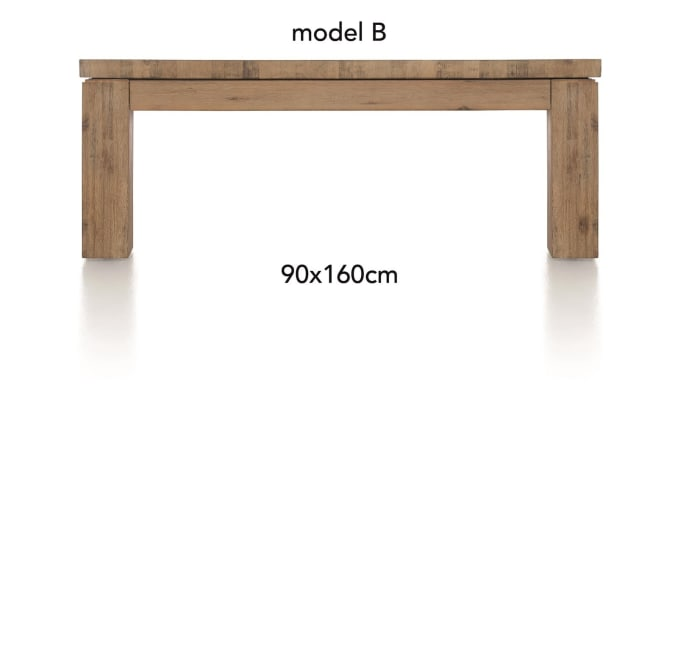 A La Carte - table basse 160 x 90 cm - ben