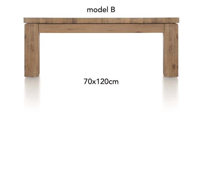 A La Carte - salontafel 120 x 70 cm - ben