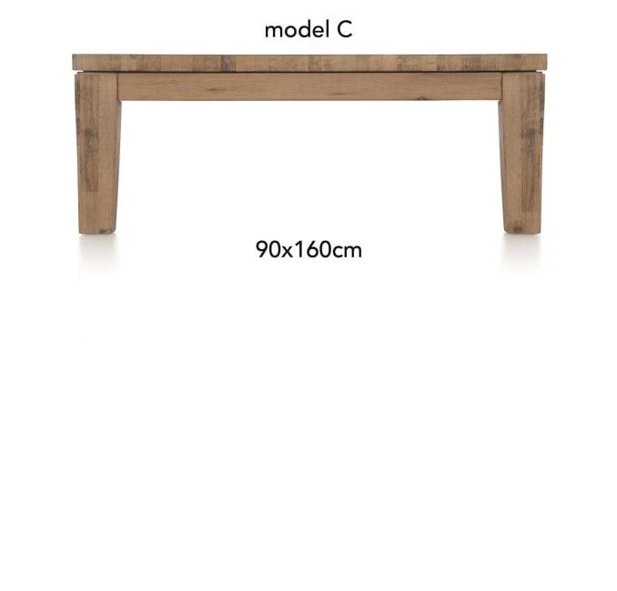A La Carte - salontafel 160 x 90 cm - cor