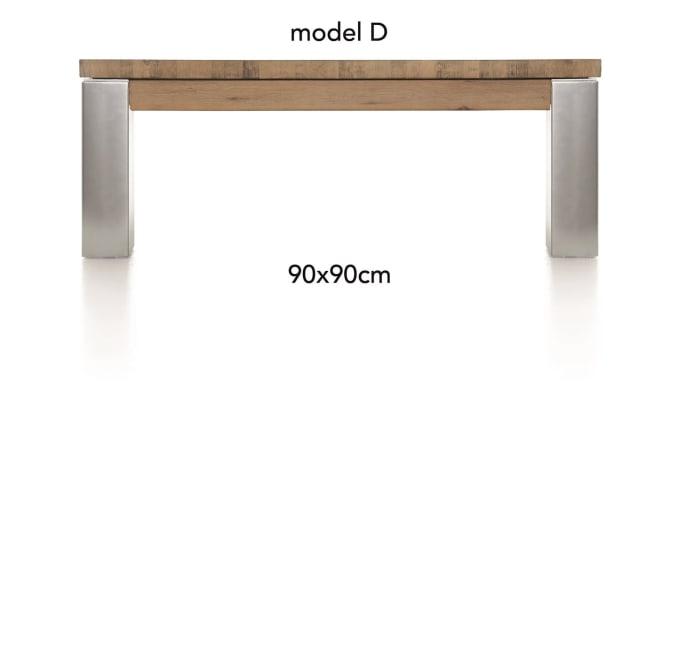 A La Carte - salontafel 90 x 90 cm - dirk