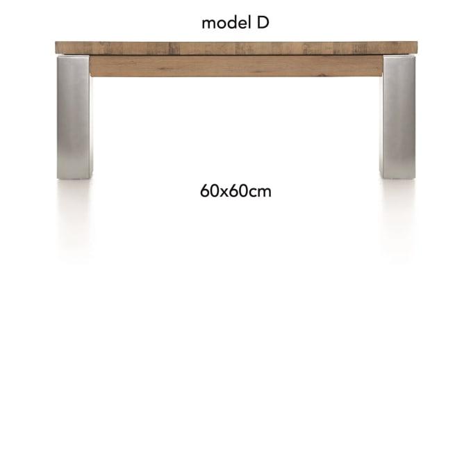 A La Carte - table basse 60 x 60 cm - dirk