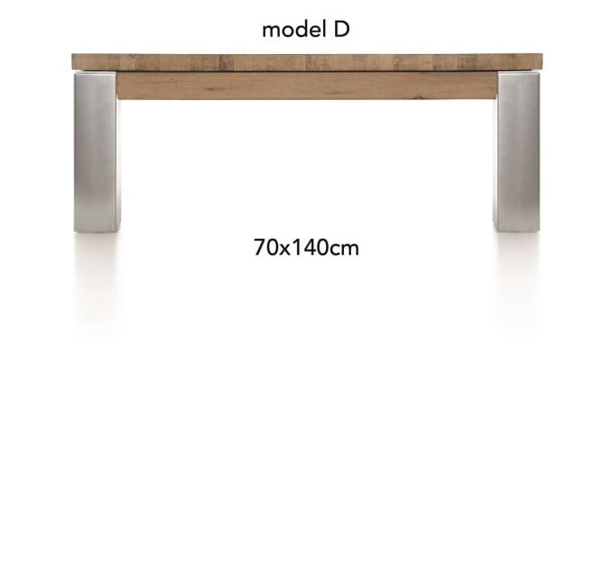 A La Carte - salontafel 140 x 70 cm - dirk
