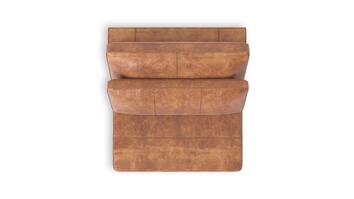 Braga - 1-zits xl zonder armen - 105 cm