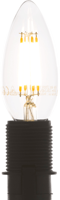 Coco Maison - led e-14 - candle filament - warm white
