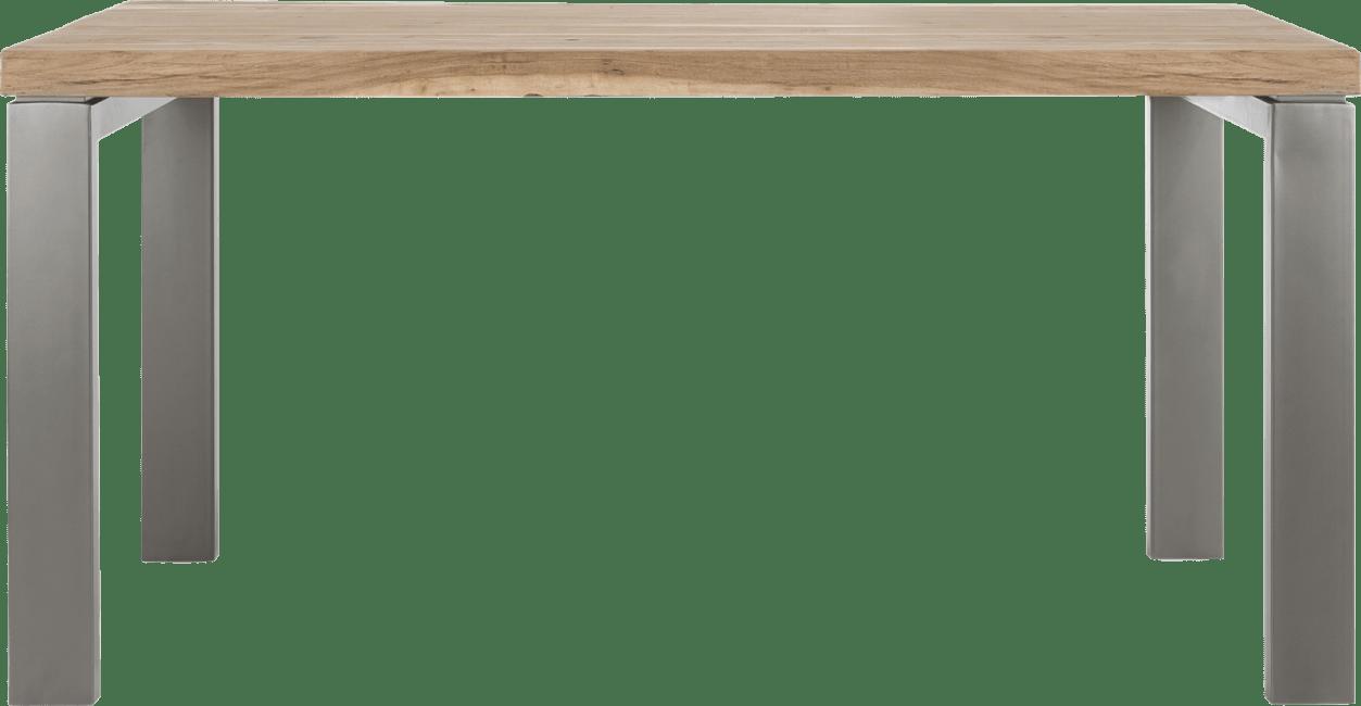 Garda - eetkamertafel 90 x 160 cm - u-onderstel