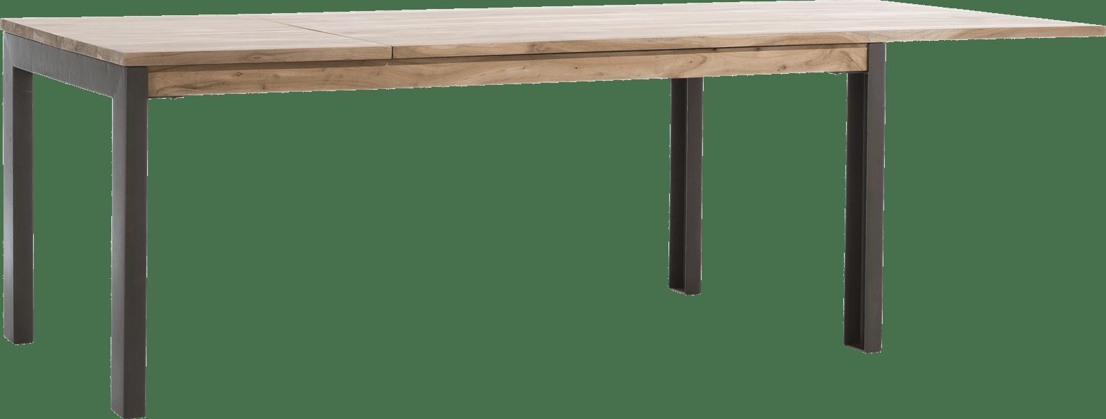 Falster - table a rallonge 190 (+ 60) x 100 cm