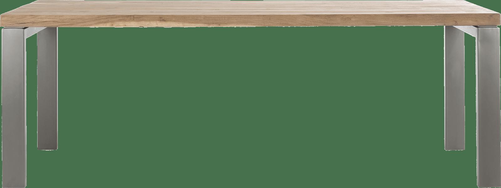 Garda - eetkamertafel 220 x 100 cm - u-onderstel