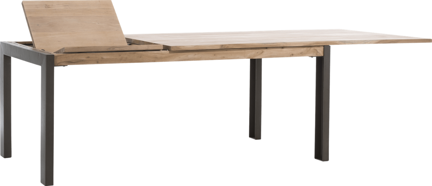 Falster - uitschuiftafel 190 (+ 60) x 100 cm