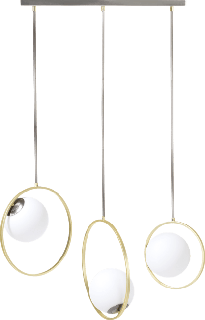 Coco Maison - leah, hanglamp - 3 lamps g9