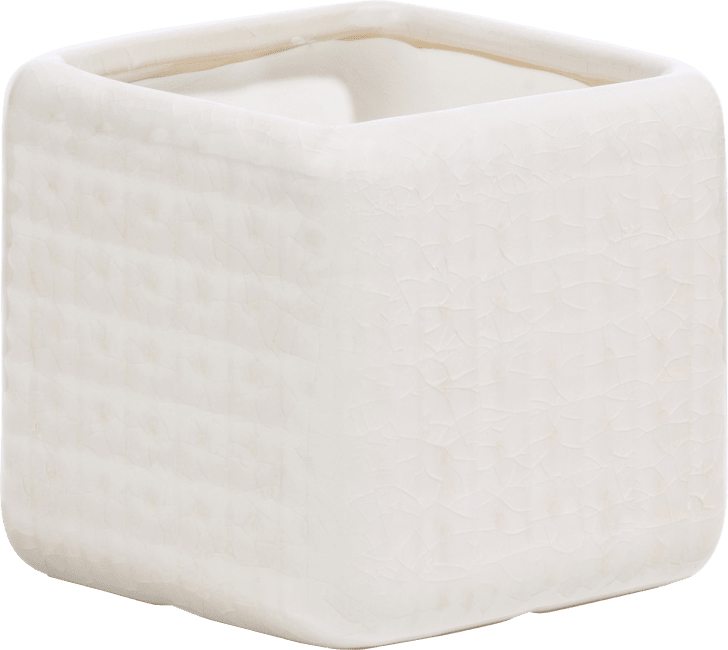Coco Maison - pot dots small - blanc