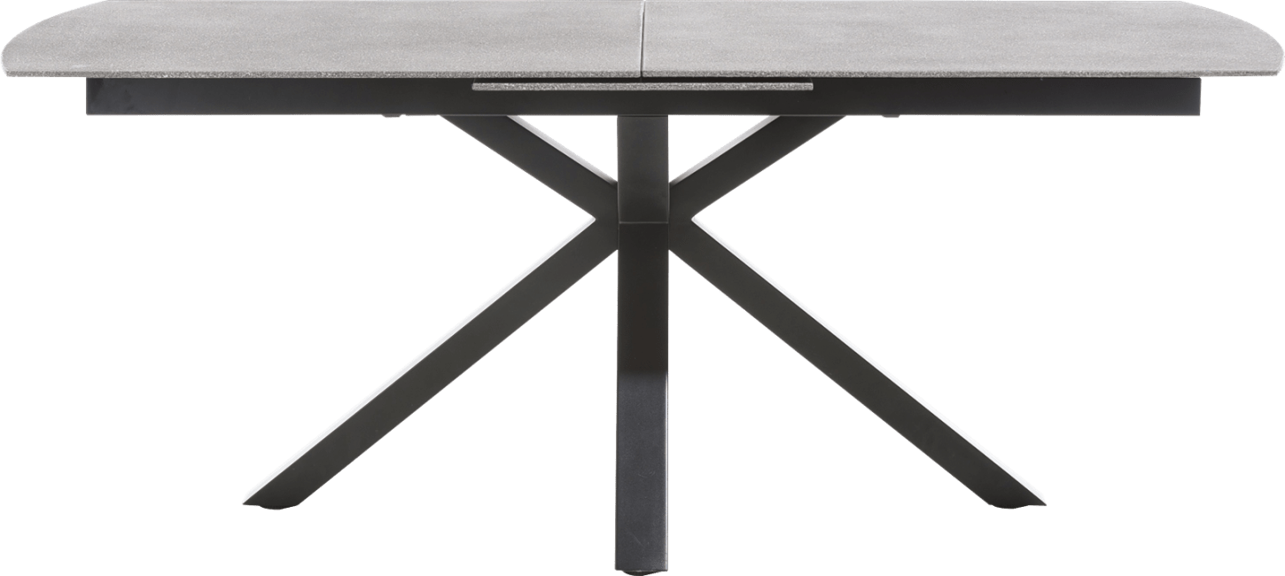 Multiplus - table 190 x 100 cm - stone glass