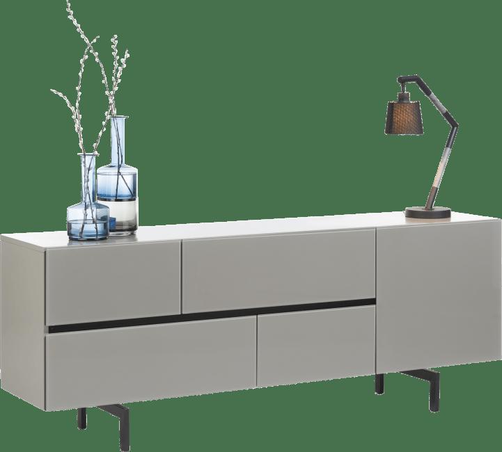 Lurano - sideboard 190 cm - 1-tuer + 4-laden