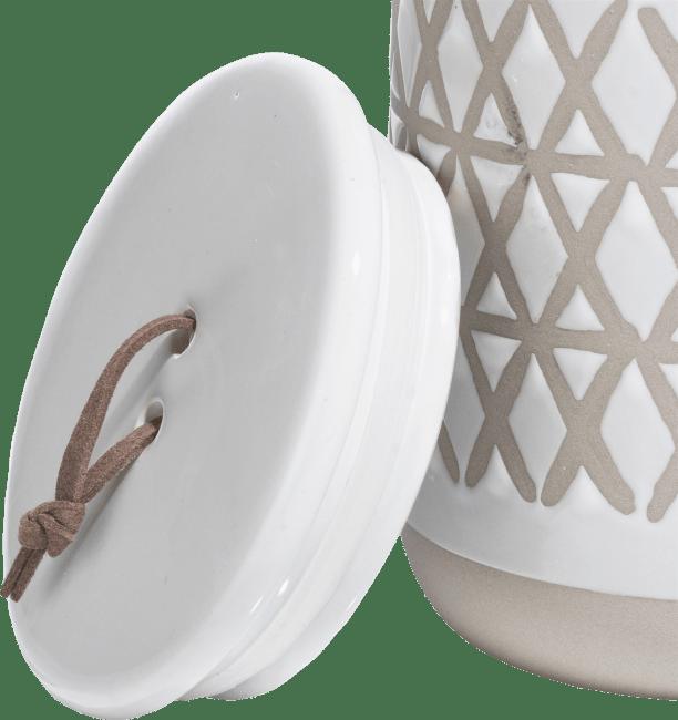 Coco Maison - pot nikki - blanc