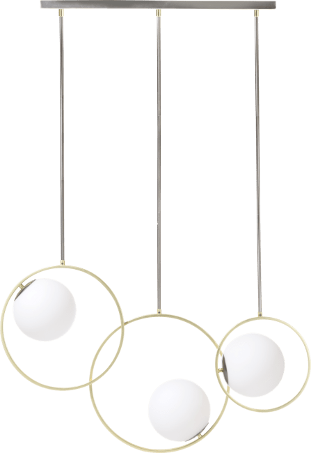 Coco Maison - leah, haengelampe - 3 flammig g9