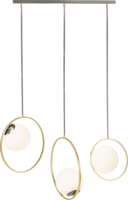 Coco Maison - leah, lustre - 3 ampoules g9
