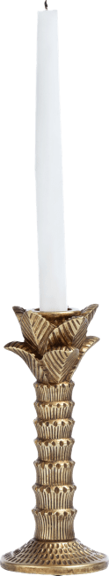 Coco Maison - candle stand palm tree - 21 cm