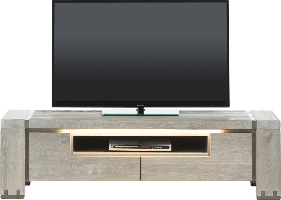 Avola - tv-sideboard 160 cm - 2-klappen + 1-nische