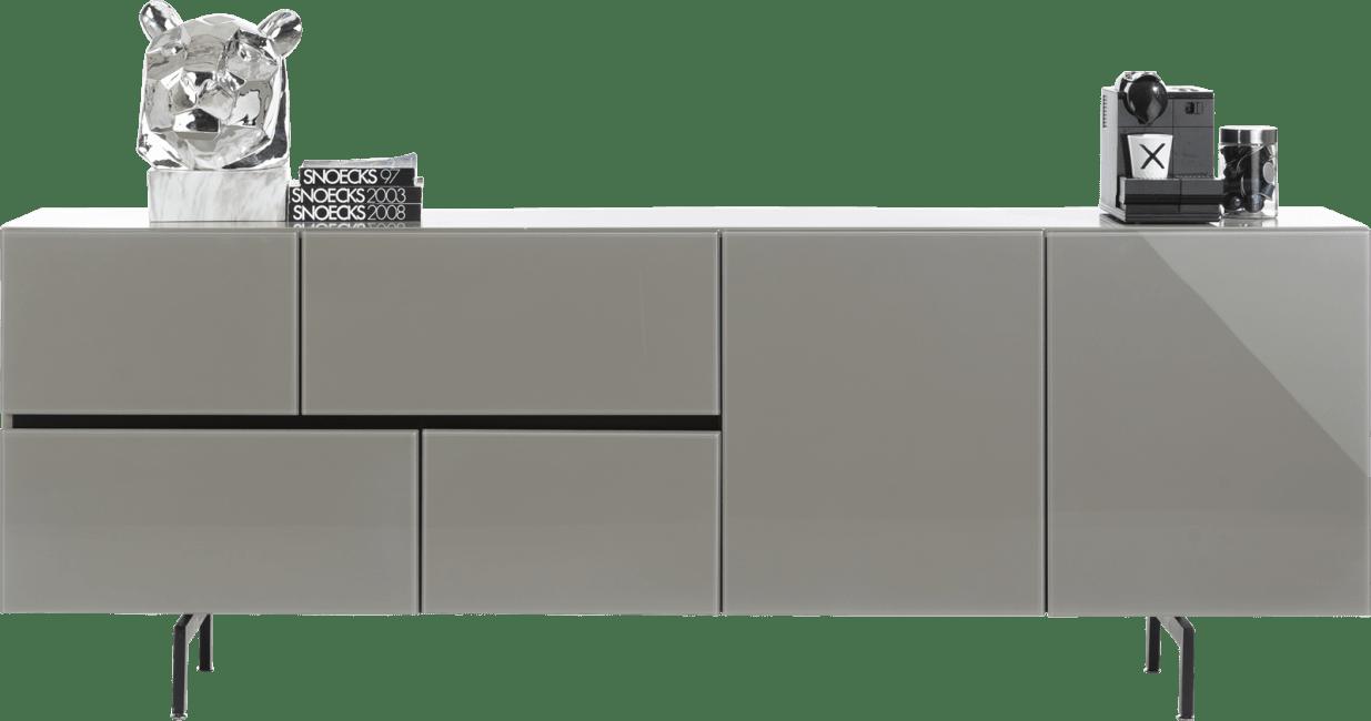 Lurano - dressoir 230 cm - 2-deuren + 4-laden