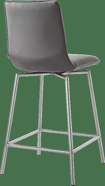 Davy - chaise de bar inox + tatra