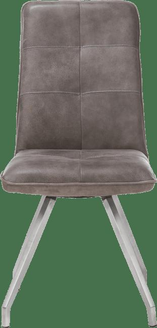 Milan Leder - stuhl - artis gestell 4-fuessen