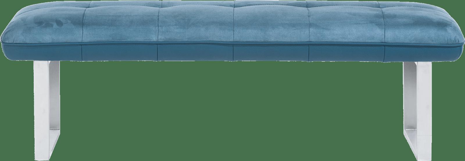 Milva Bank - bank zonder rug + pocketvering - 155 cm