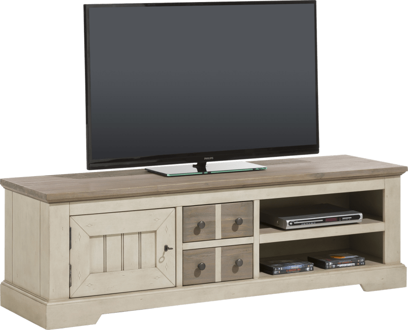 Le Port - tv-sideboard 160 cm - 1-tuer + 2-laden + 2-nischen