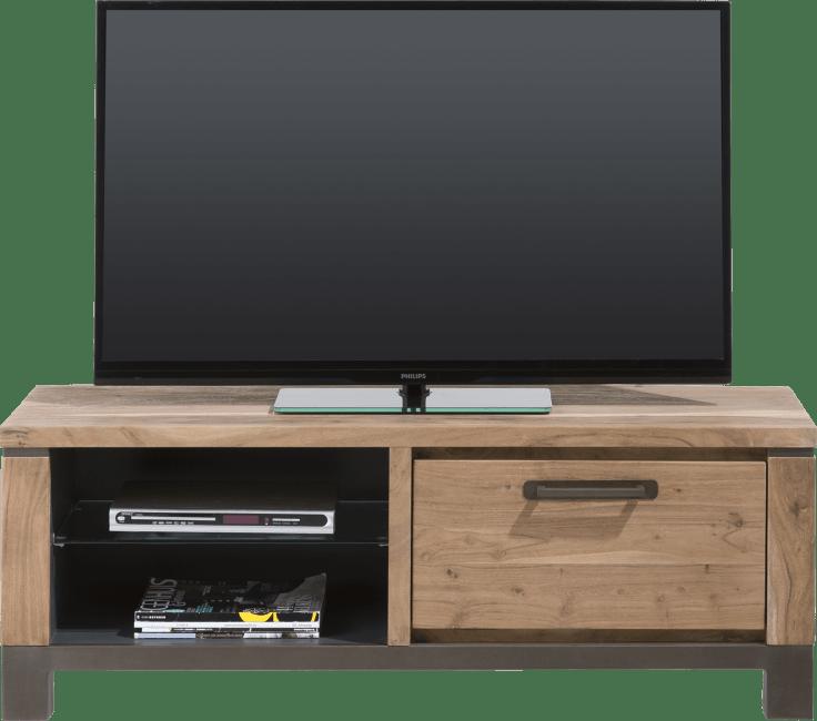 Falster - tv-dressoir 130 cm - 1-klep + 2-niches