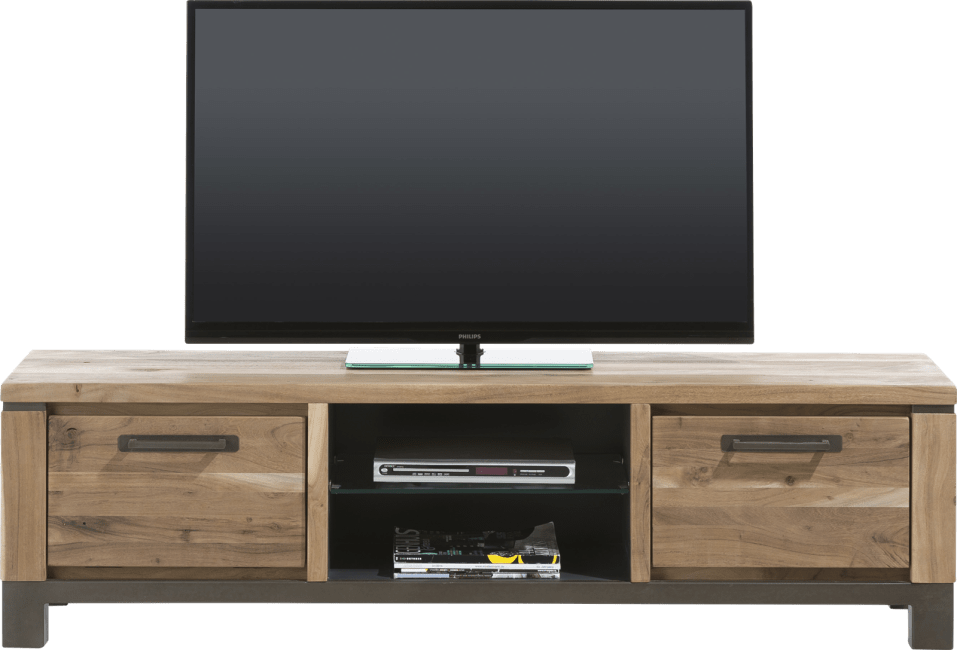 Falster - tv-dressoir 170 cm - 1-lade + 1-klep + 2-niches