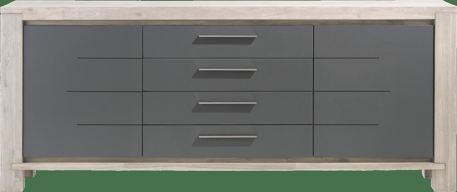 Multiplus - dressoir 210 cm - 2-deuren + 2-laden