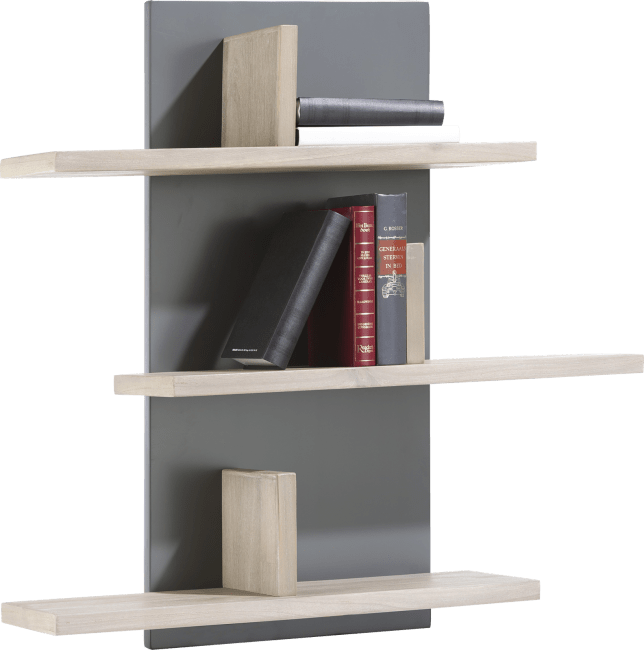 Multiplus - etagere 6-niches - 80 cm