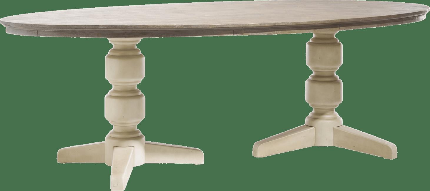 Le Port - table ovale 190 x 100 cm