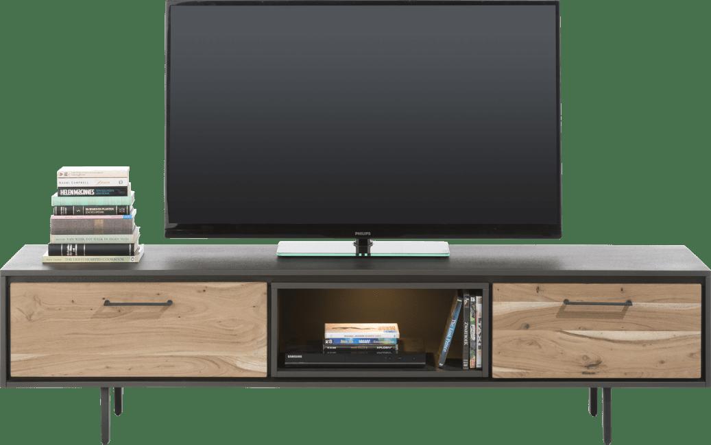Cenon - tv-sideboard 180 cm - 1-lade + 1-klappe + 1-nische (+ led)