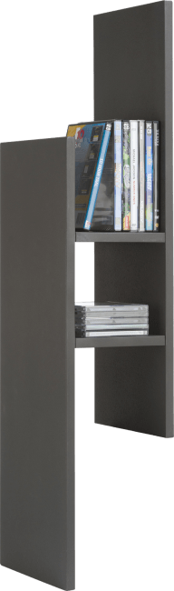Cenon - etagere mural 99 cm + 3-niches - mdf