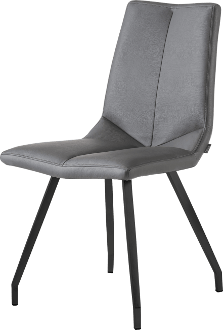 Artella - chaise noir 4 pieds - tatra anthracite