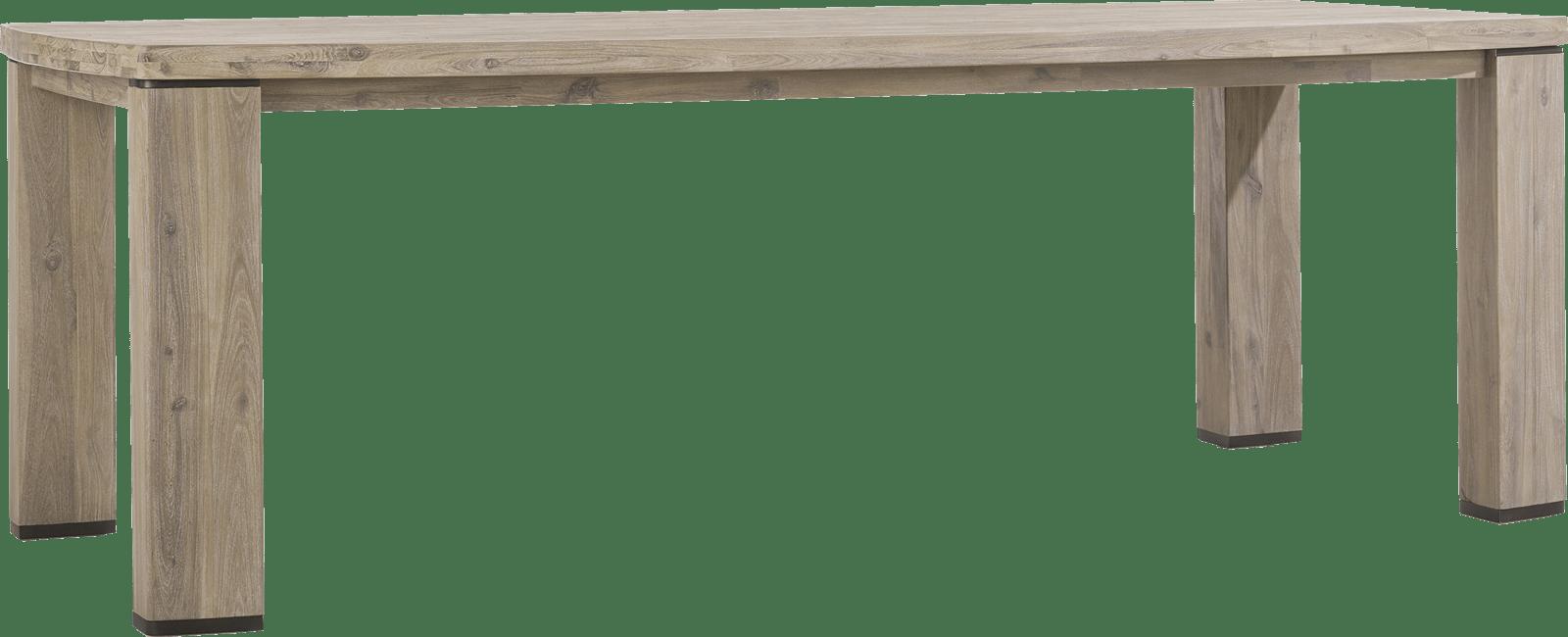 Coiba - eetkamertafel 230 x 105 cm