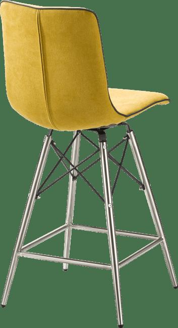 Celine - chaise de bar inox