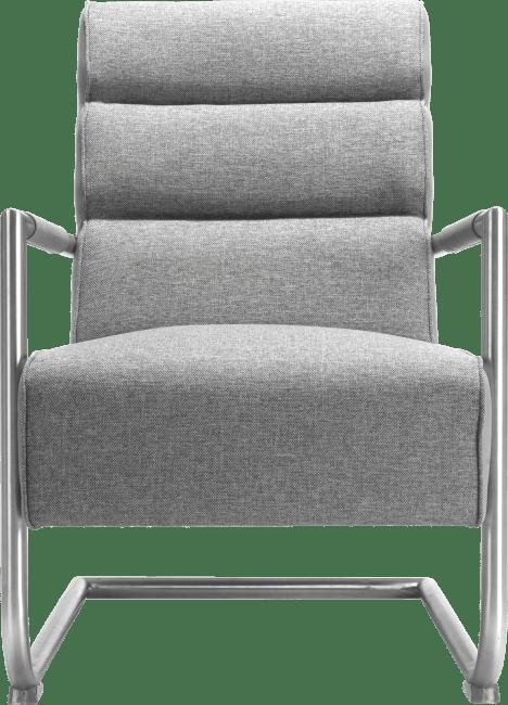 Luzern - fauteuil - rvs
