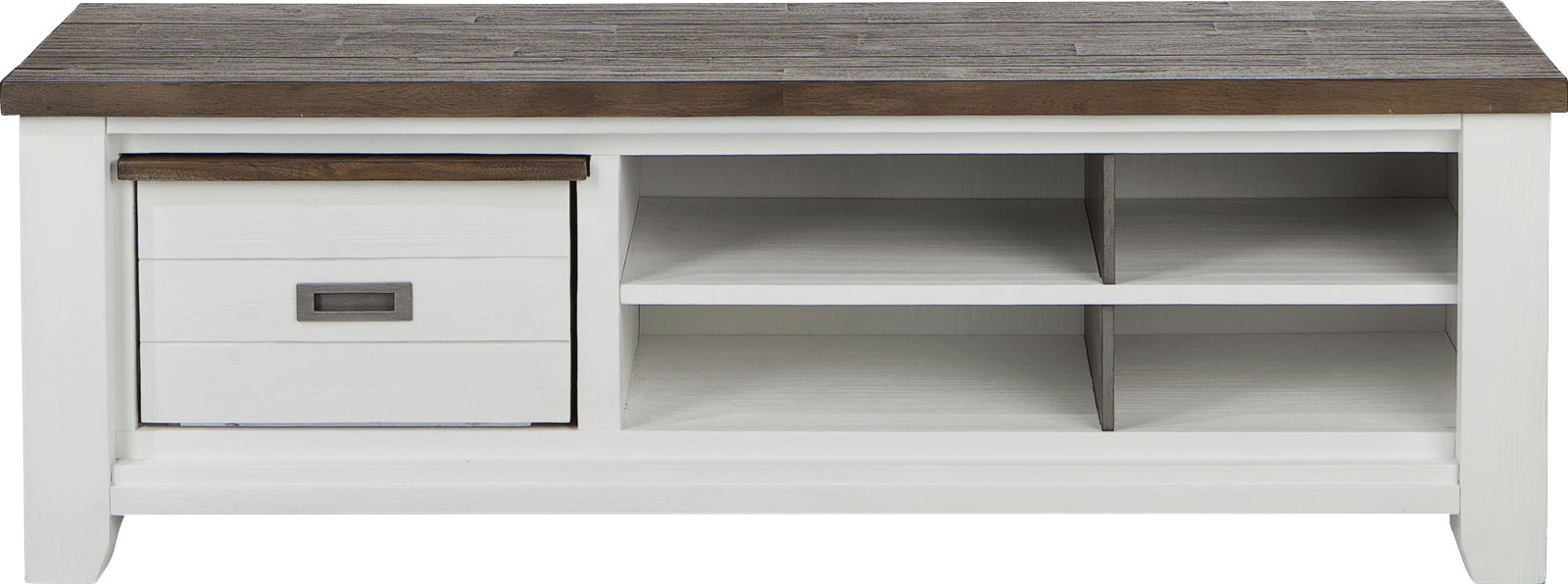 Velasco - tv-dressoir 160 cm - 1-box + 4-niches
