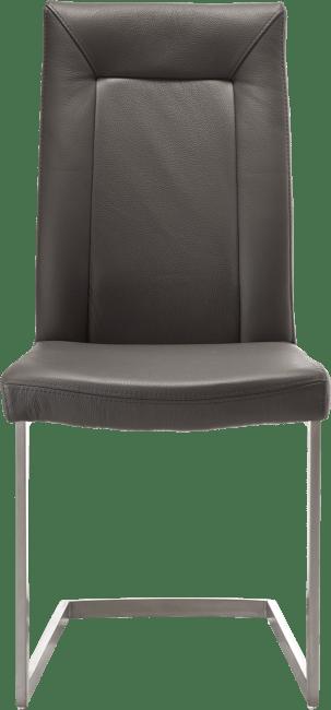 Malvino - stuhl - edelstahl swing viereckig + handgriff